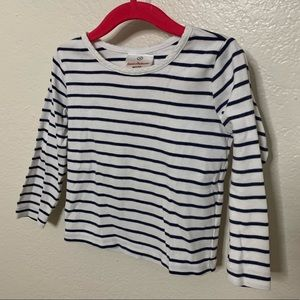 Hanna Andersson Striped Long Sleeve T-Shirt